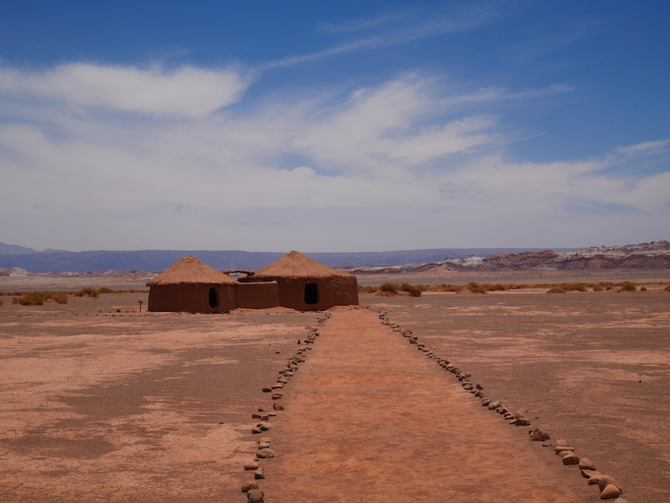 Le village Aldea de Tulor.