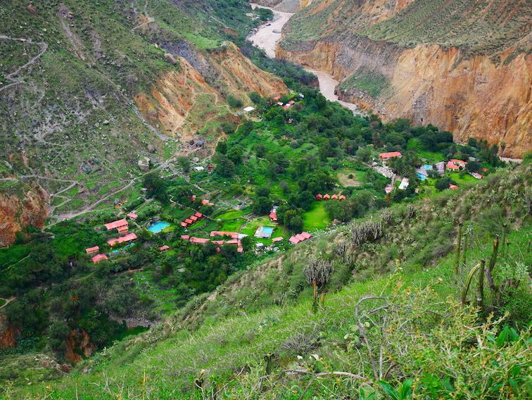 Combien de temps dure la descente dans le canyon de Colca ?