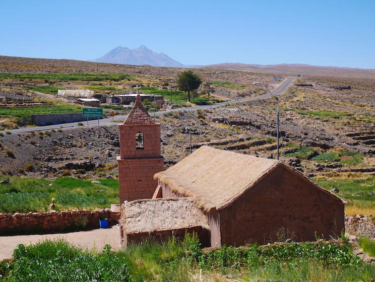L'église du village de Socaire.