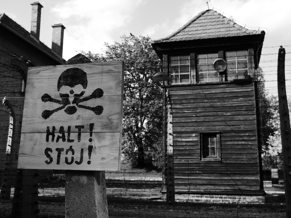 Mirador à Auschwitz.