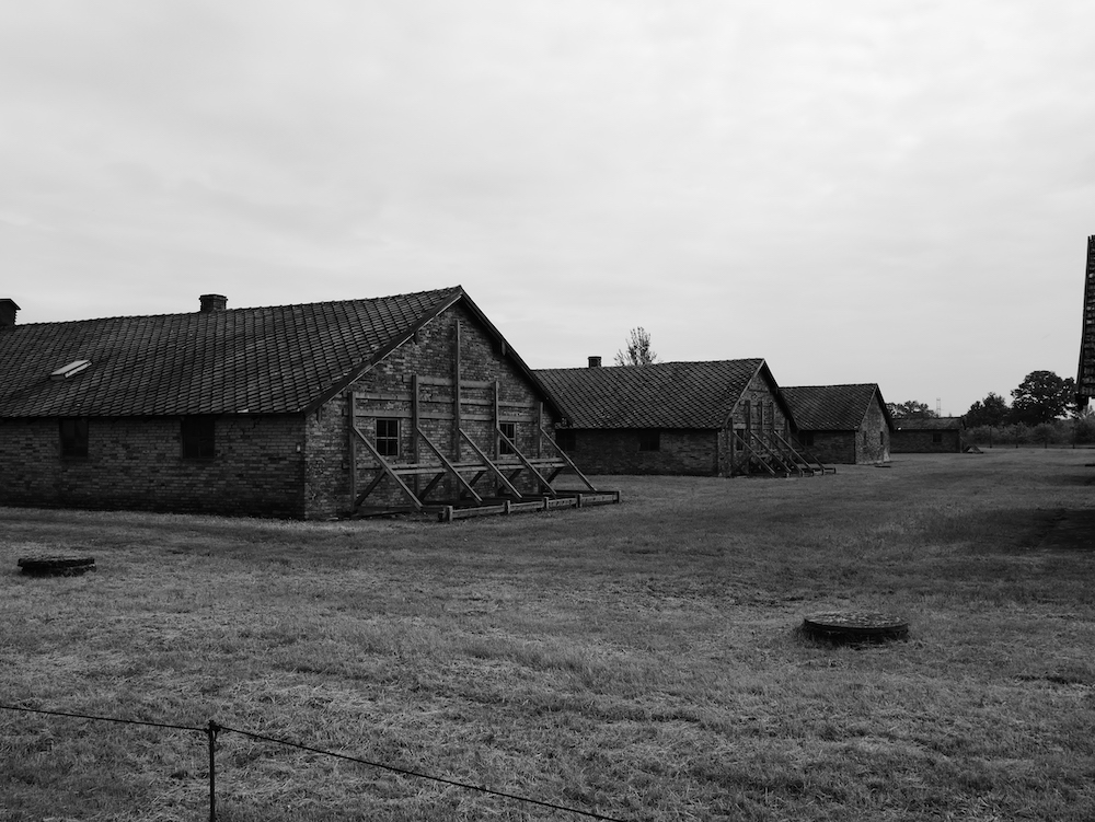 Baraquements Birkenau.