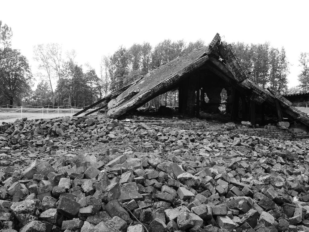 Chambres à gaz Birkenau.