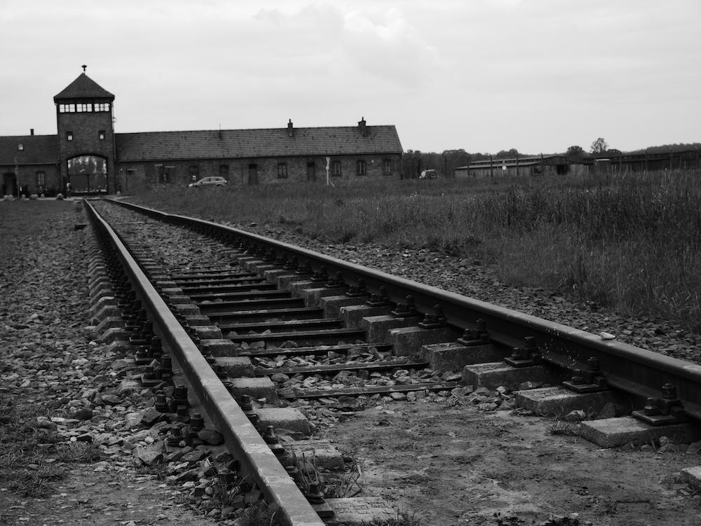 Entrée Birkenau.