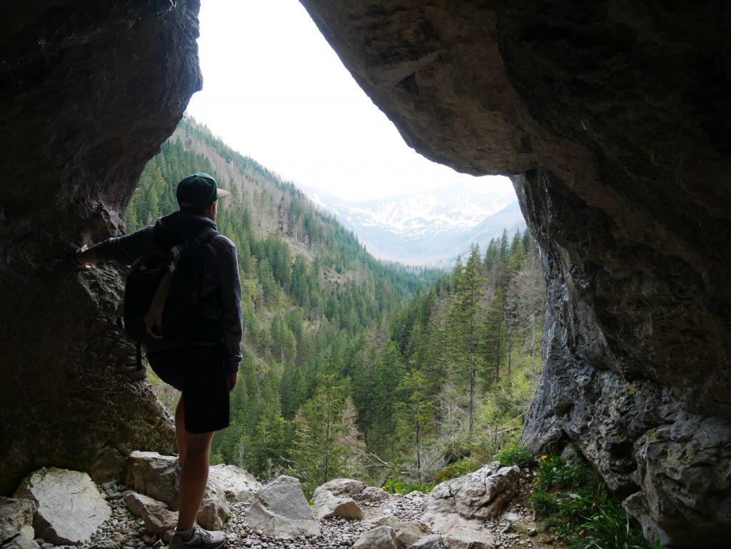 Grottes à Kiry en Pologne.