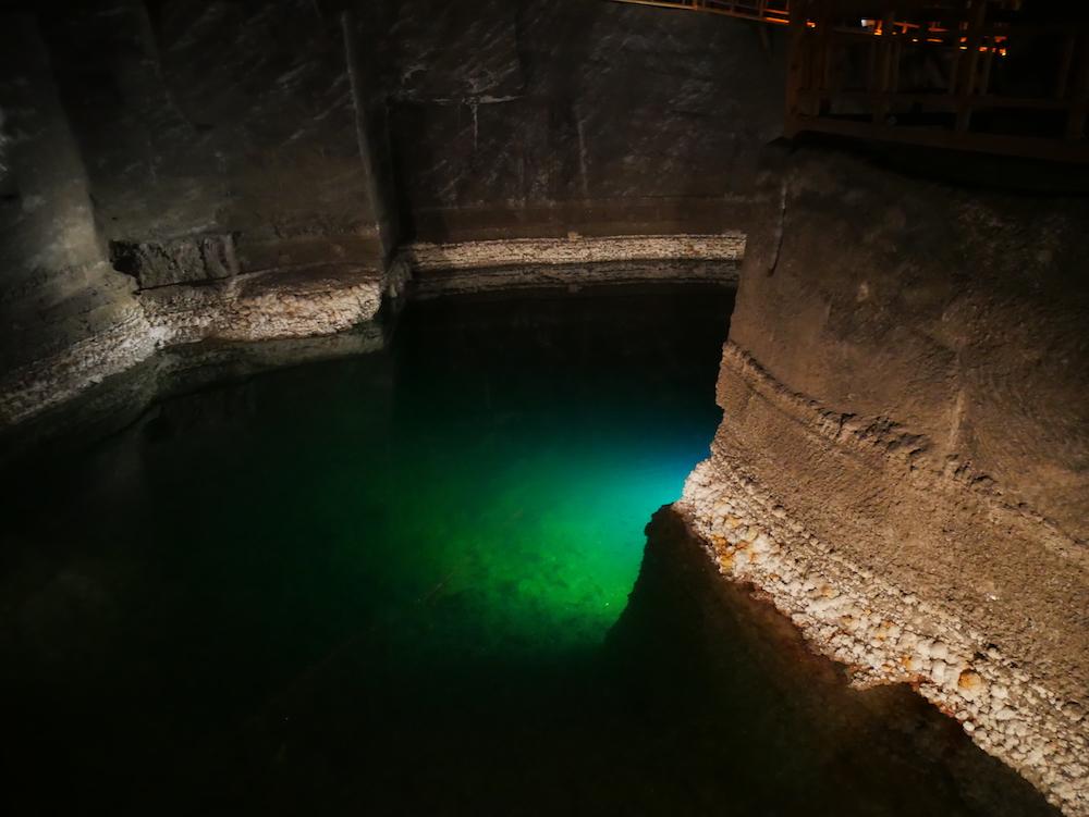 Lac de la mine de sel.