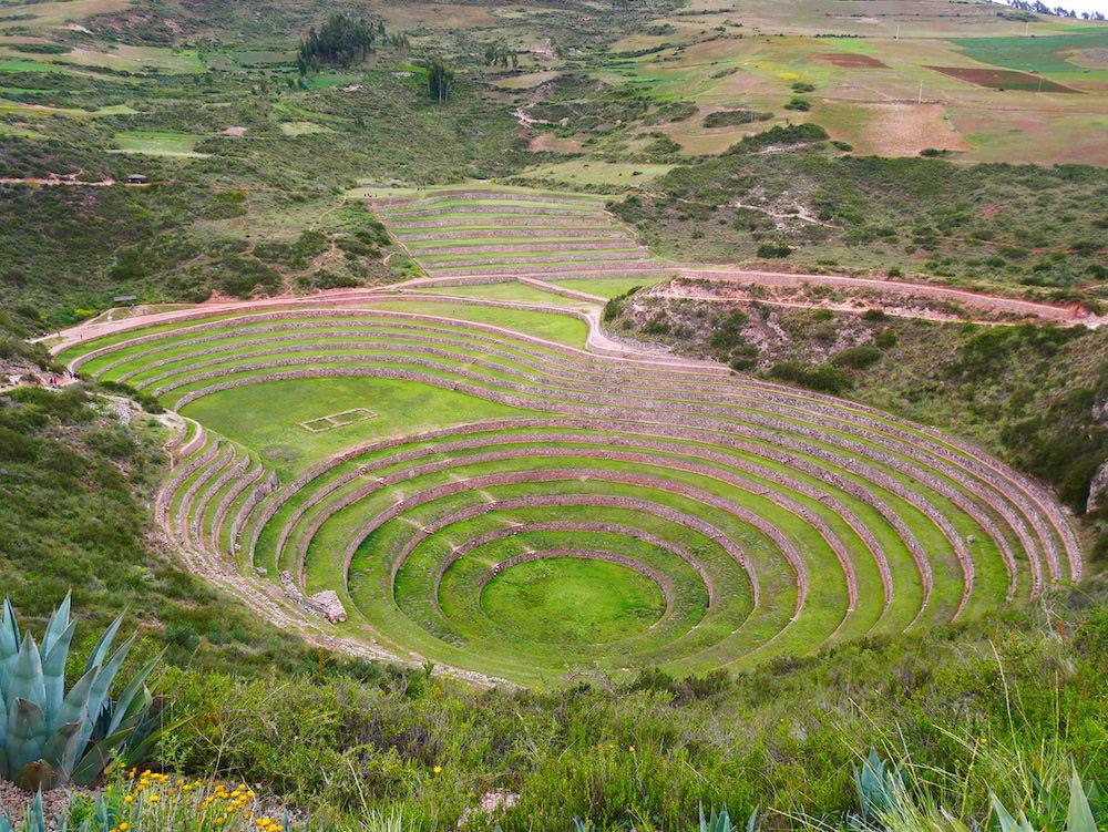 Moray près de Cusco.