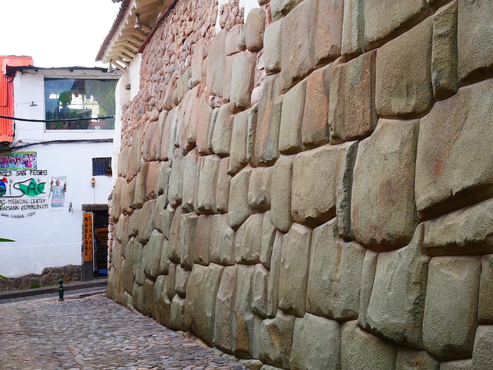 Les murs de la ville de Cusco !