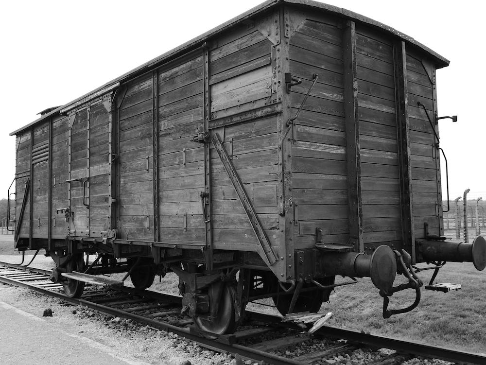 Wagon Birkenau.