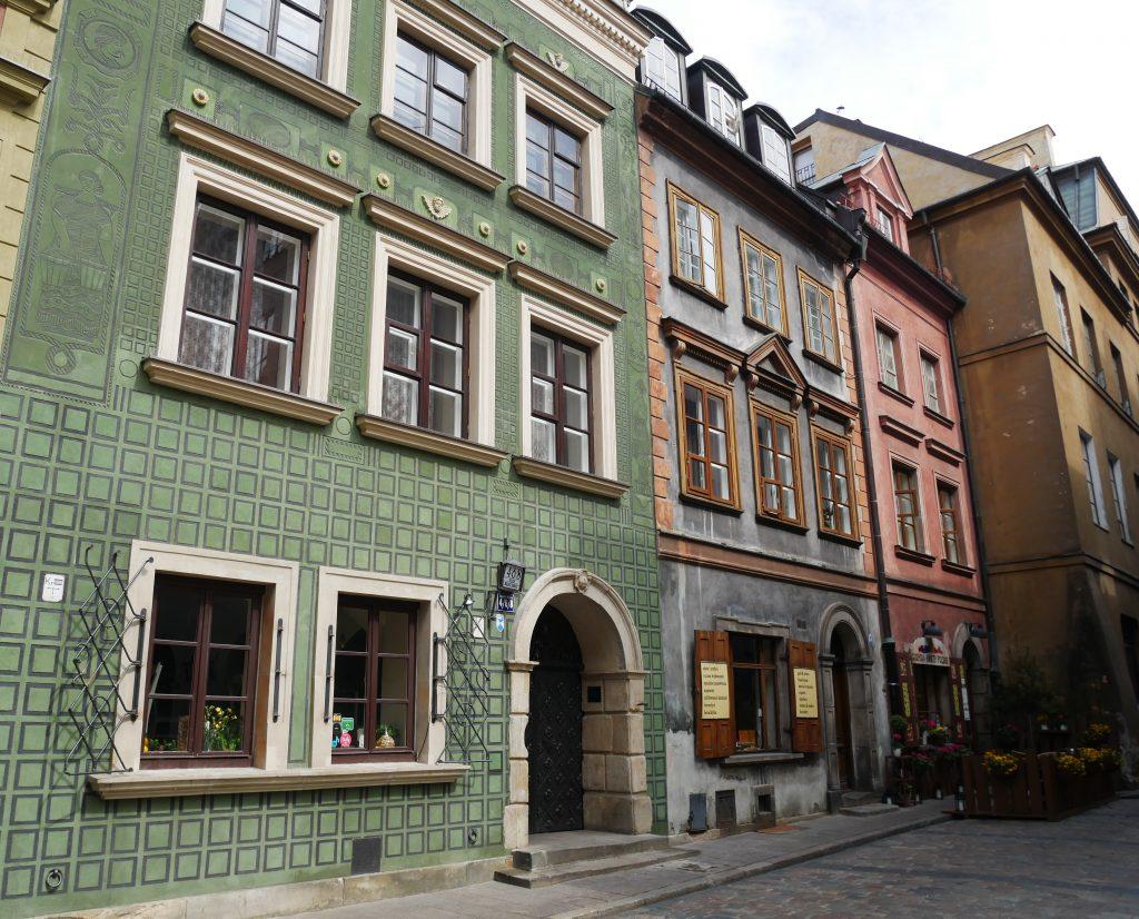 Rues de Varsovie.