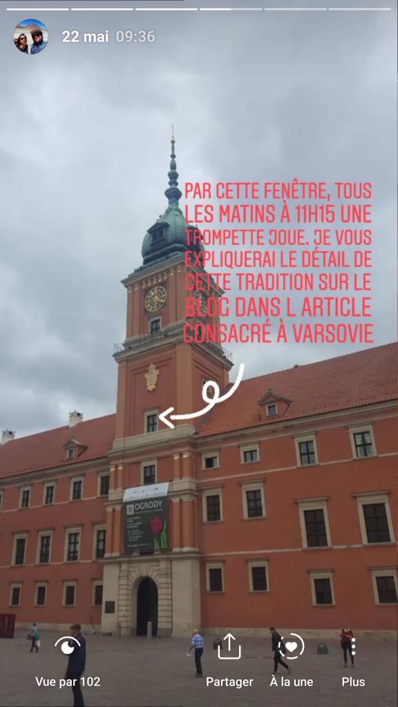 Story trompette Varsovie.