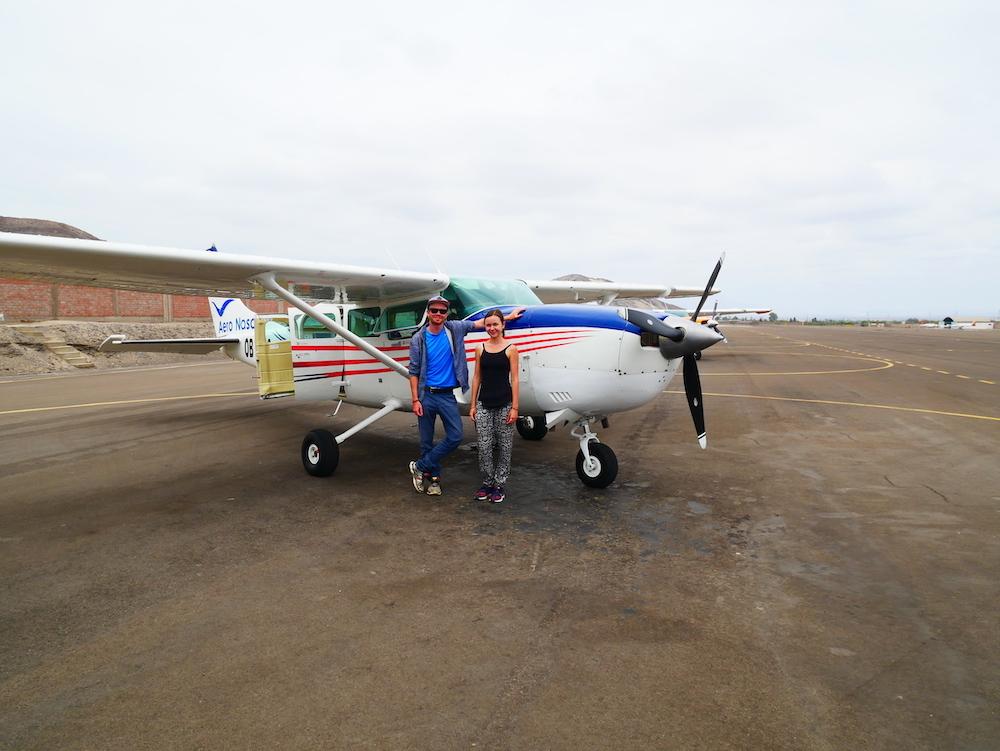 A quoi ressemble l'avion pour les lignes de Nazca ?