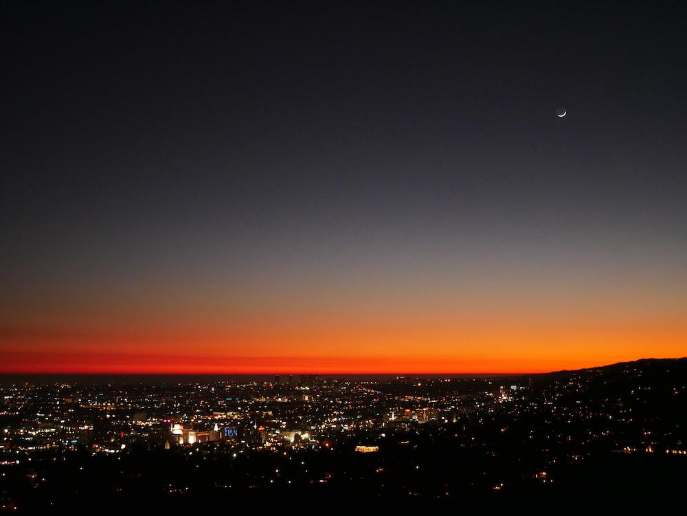 Où voir un coucher de soleil à Los Angeles ?