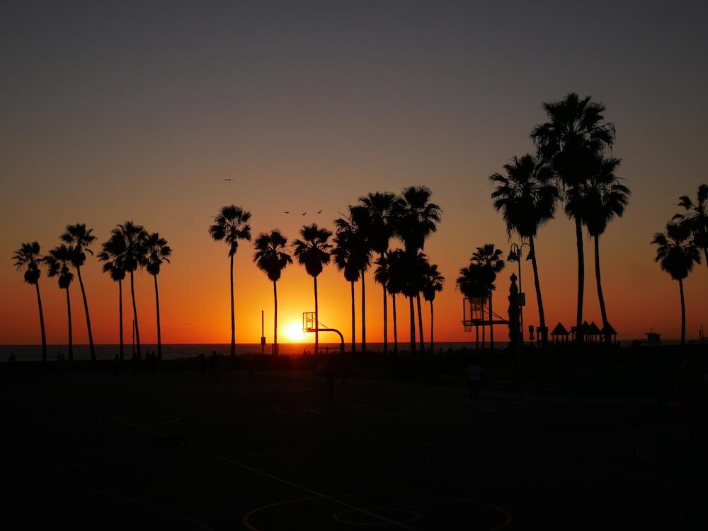 Où voir des couchers de soleil à Los Angeles ?