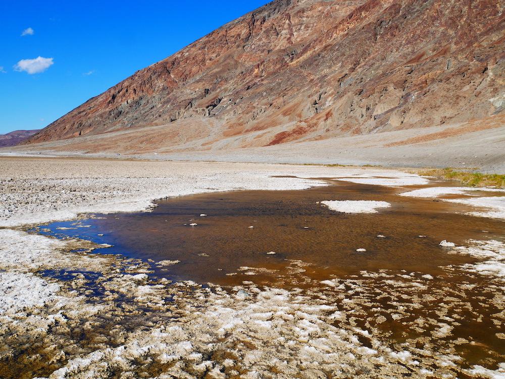 Badwater dans la Death Valley.