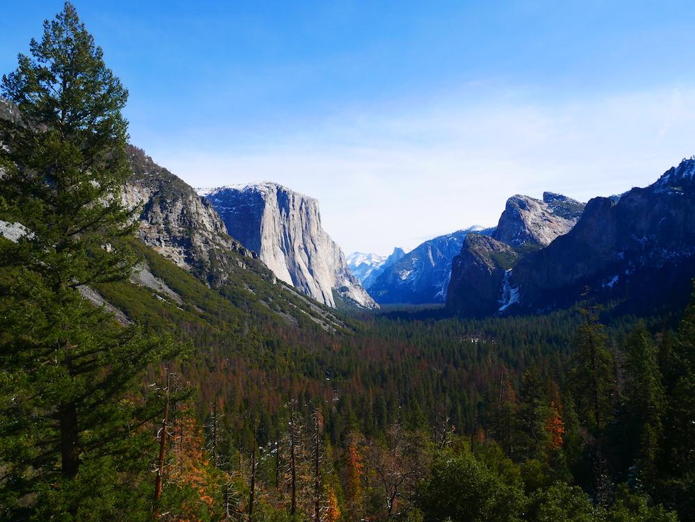 El Capitan à Yosemite.
