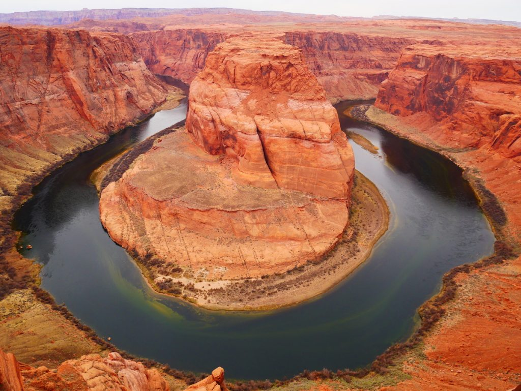 Horseshoe Bend en Arizona.