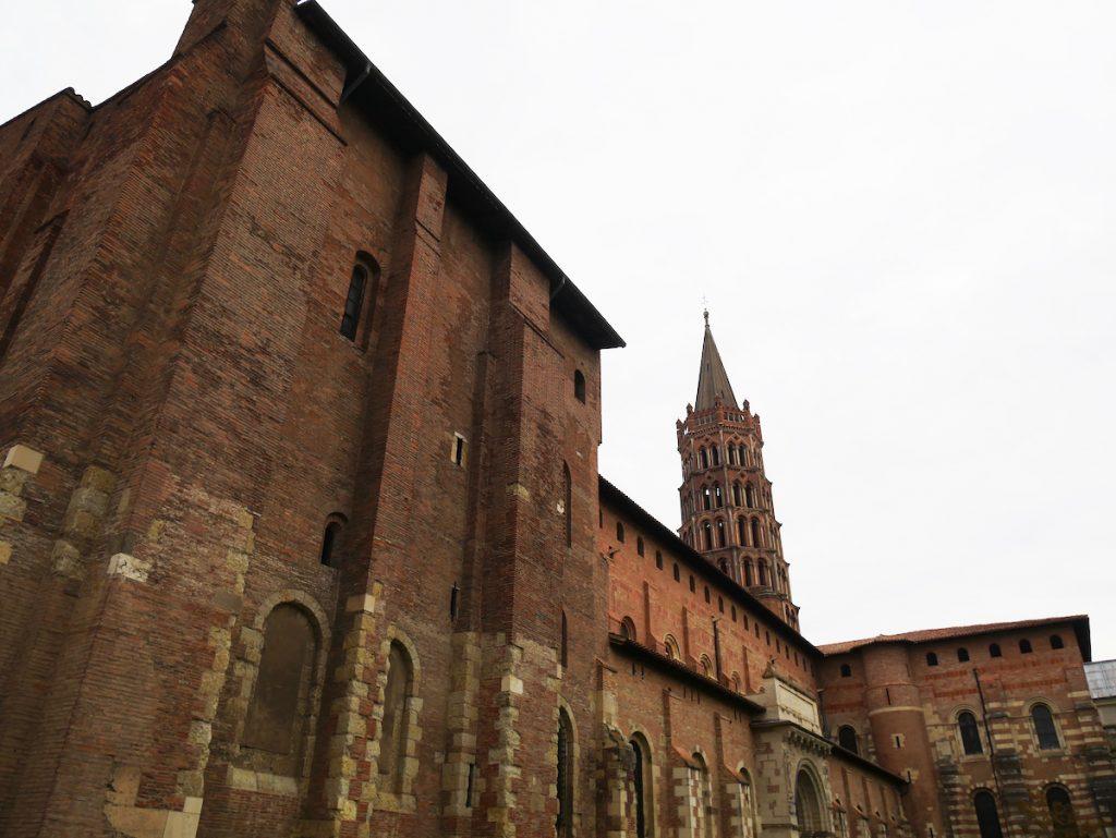 Basilique Saint Sernin de Toulouse.