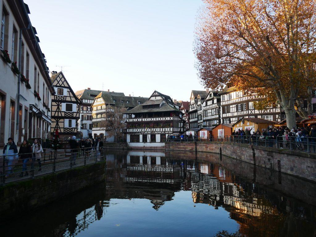 Magnifique canaux à Strasbourg.