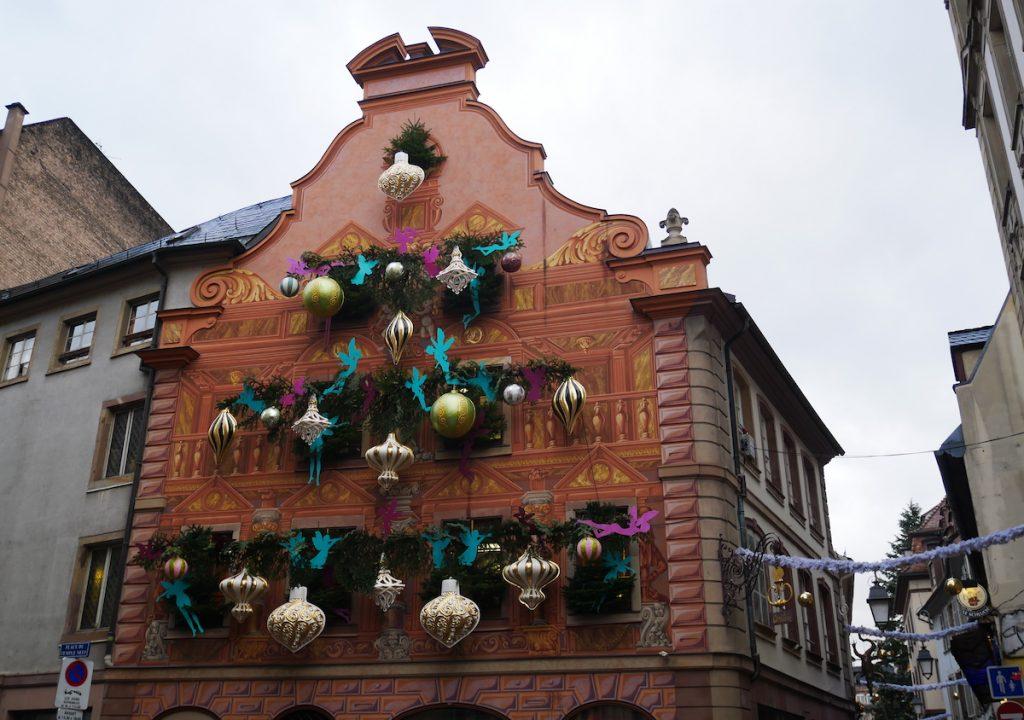 Décorations boutiques à Strasbourg.