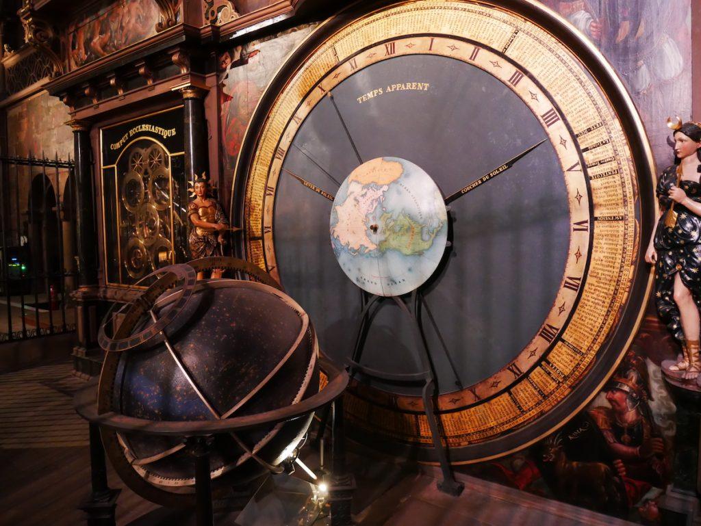 Horloge astronomique à Strasbourg.