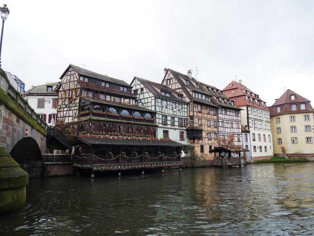 Sur les quais de Strasbourg.
