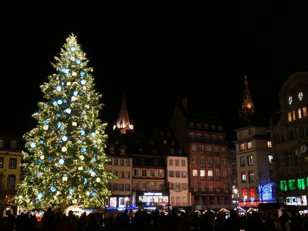 Place Kléber à Strasbourg.