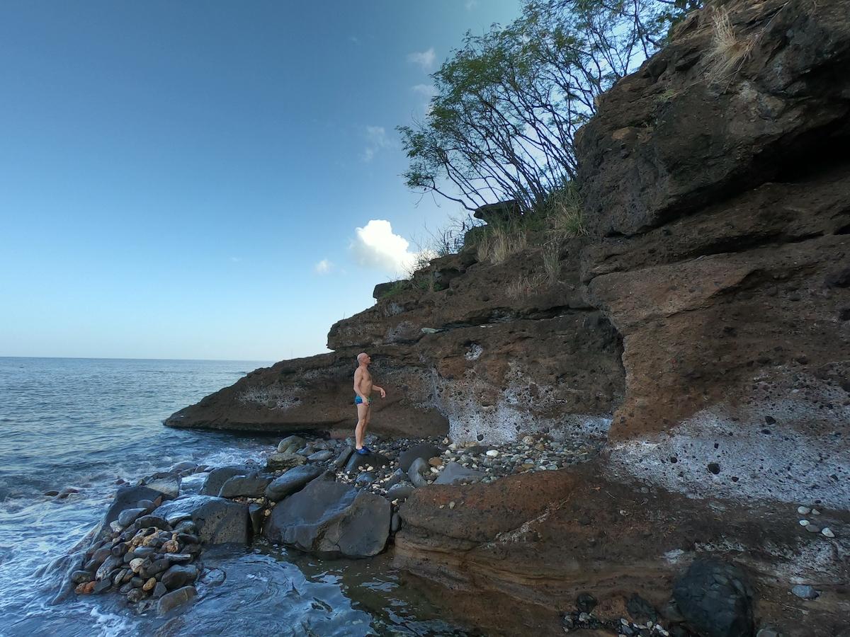 Où se trouvent les bains chauds en Guadeloupe ?