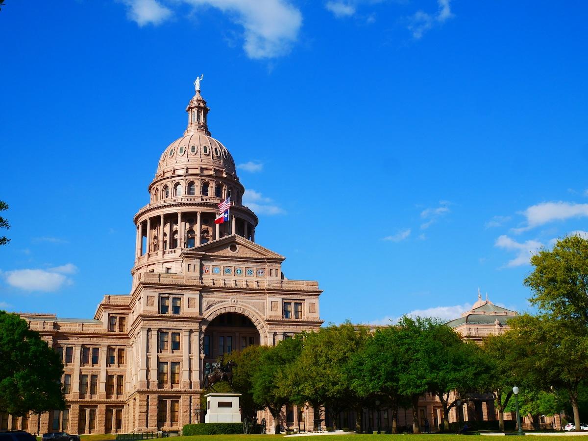 Où se trouve le Capitole du Texas ?