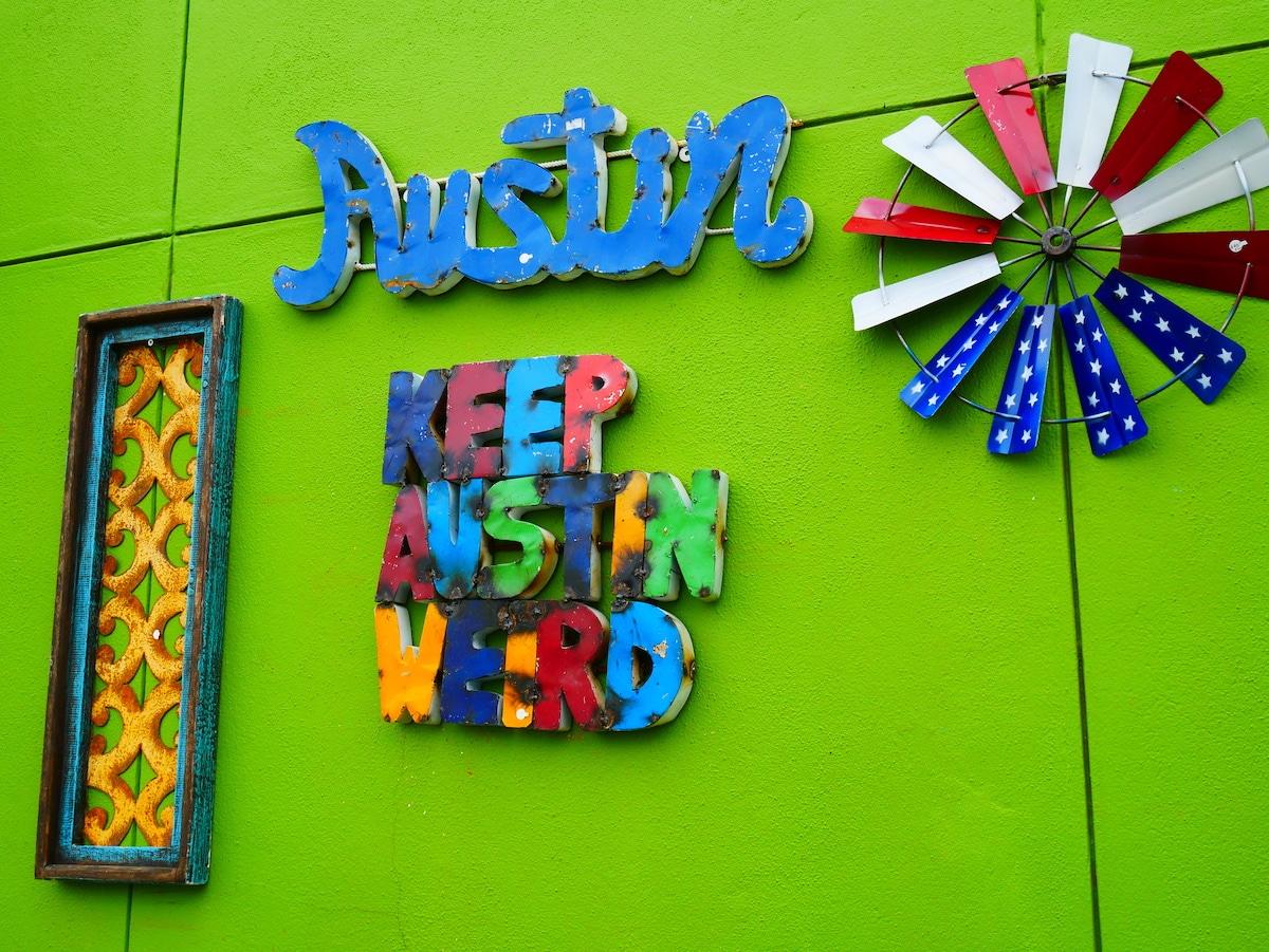 Keep Austin weird.